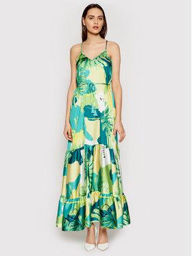 Guess Guess Ljetna haljina Angelica W1GK1H WCX32 Zelena Regular Fit