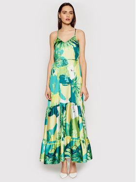 Guess Guess Sukienka letnia Angelica W1GK1H WCX32 Zielony Regular Fit