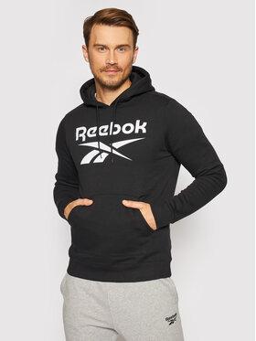 Reebok Reebok Bluza Identity GR1658 Czarny Regular Fit