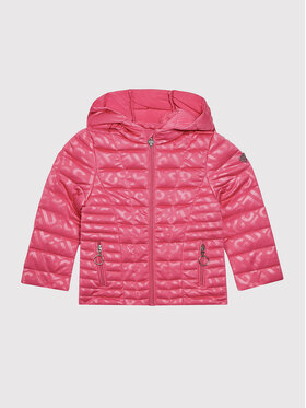 Guess Guess Μπουφάν πουπουλένιο K1YL01 KAF92 Ροζ Regular Fit