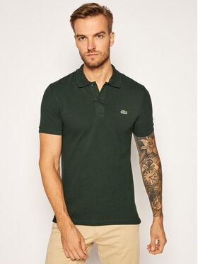 Lacoste Lacoste Тениска с яка и копчета PH4012 Зелен Slim Fit