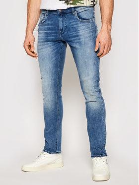 Guess Guess Jeansy Skinny Fit Miami M1RAN1 D4B72 Granatowy Skinny Fit
