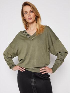 Guess Guess Sweater Dalia W1RR04 Z2NQ0 Zöld Regular Fit