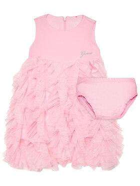 Guess Guess Елегантна рокля A1RK22 KAE30 Розов Regular Fit