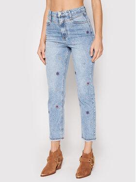 Desigual Desigual Jeans Julieta 21WWDD10 Blau Straight Fit