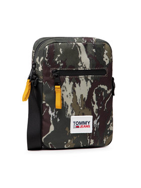 Tommy Jeans Tommy Jeans Geantă crossover Urban Ess Reporter Camo AM0AM07847 Verde