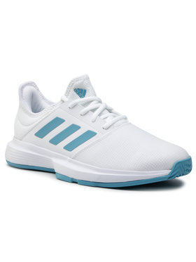 adidas adidas Παπούτσια GameCourt M FX1552 Λευκό