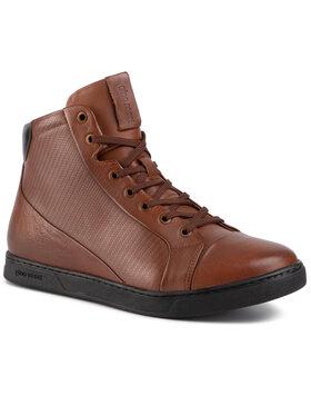 Gino Rossi Gino Rossi Šnurovacia obuv MI08-C640-632-02 Hnedá