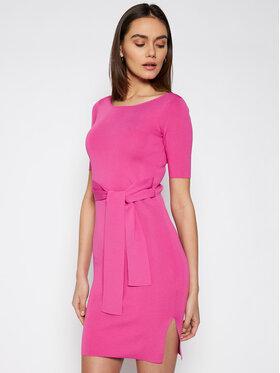 Guess Guess Každodenní šaty W1GK49 Z2U00 Růžová Slim Fit