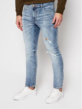 Guess Guess jeansy Skinny Fit Miami M0YAN1 D4323 Blu Skinny Fit