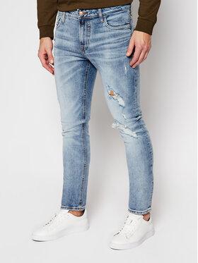 Guess Guess Skinny Fit džíny Miami M0YAN1 D4323 Modrá Skinny Fit