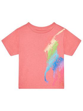 Polo Ralph Lauren Polo Ralph Lauren T-shirt 312841390001 Ružičasta Regular Fit