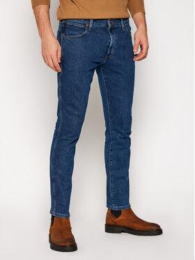 Wrangler Wrangler Slim Fit Jeans Larston W18SU5225 Dunkelblau Slim Tapered Fit