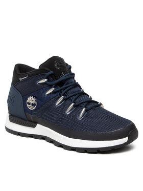 Timberland Timberland Chaussures de trekking Sprint Trekker Mid Fab Wp TB0A2FXT019 Bleu marine