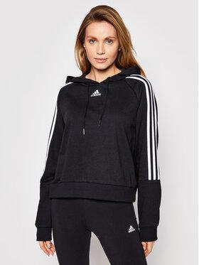 adidas adidas Μπλούζα W 3S Hd GL1460 Μαύρο Regular Fit