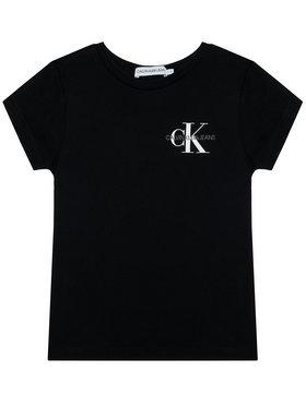 Calvin Klein Jeans Calvin Klein Jeans T-shirt Chest Monogram IG0IG00573 Nero Regular Fit