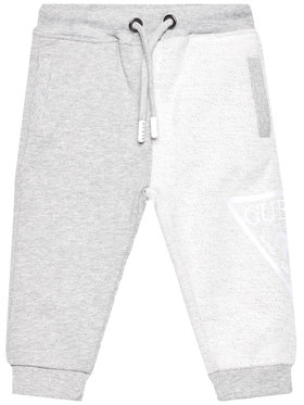 Guess Guess Pantalon jogging N1RQ09 KA6R0 Gris Regular Fit