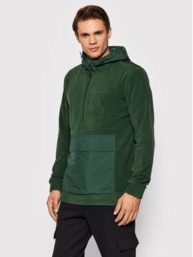 Outhorn Outhorn Fliso džemperis PLM601 Žalia Regular Fit