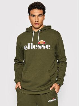 Ellesse Ellesse Суитшърт Ferrer SHK13288 Зелен Regular Fit