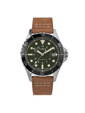 Timex Timex Karóra Navi Xl Automatic TW2U09800 Barna
