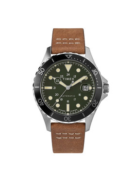 Timex Timex Laikrodis Navi Xl Automatic TW2U09800 Ruda