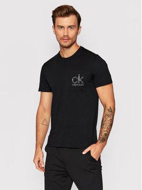 Calvin Klein Calvin Klein Тишърт Chest Pocket K10K106709 Черен Regular Fit