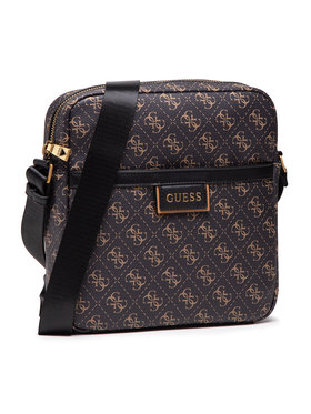 Guess Guess Geantă crossover Vezzola (4G PRINT) HMVEZL P1358 Maro