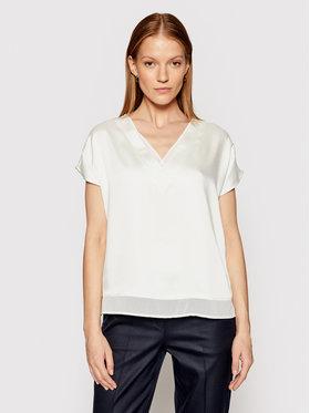 DKNY DKNY Блуза P0RA7CLZ Бял Regular Fit