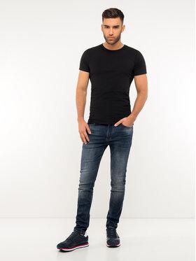 TOMMY HILFIGER TOMMY HILFIGER 3-dílná sada T-shirts Essential 2S87905187 Černá Regular Fit