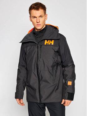 Helly Hansen Helly Hansen Lyžařská bunda Straightline 65671 Černá Regular Fit