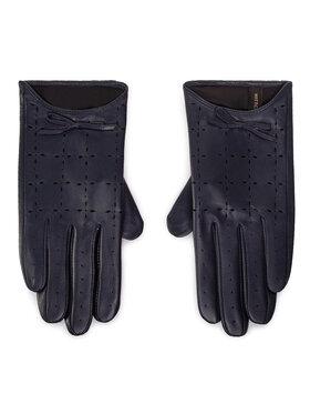Wittchen Wittchen Dámské rukavice 45-6-519-GC Tmavomodrá