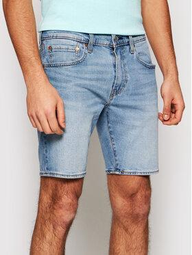 Levi's® Levi's® Džínsové šortky 412™ Flex 39387-0019 Modrá Slim Fit