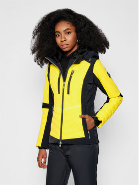 Descente Descente Giacca da sci Cicily DWWQGK09 Giallo Regular Fit