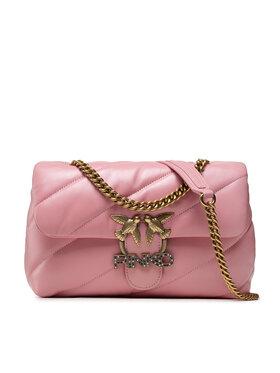 Pinko Pinko Дамска чанта Love Classic Puff Maxy Quilt Je 6 Cl AI 21-22 PLTT 1P22GP Y6Y3 Розов