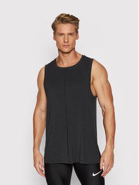Nike Nike Tank top marškinėliai Yoga BV4036 Juoda Regular Fit