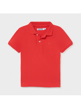 Mayoral Mayoral Polo 102 Κόκκινο Regular Fit
