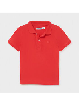 Mayoral Mayoral Polo 102 Rosso Regular Fit