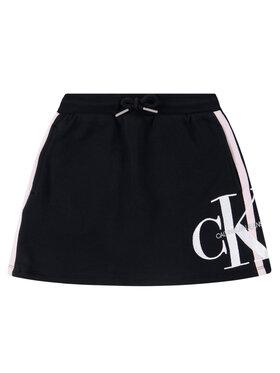 Calvin Klein Jeans Calvin Klein Jeans Sukně Monogram IG0IG0052 Černá Regular Fit