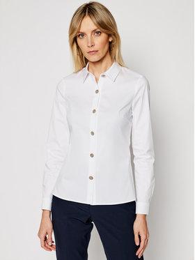 Morgan Morgan Риза 211-CONNY Бял Slim Fit