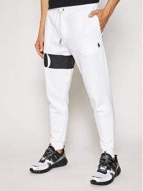 Polo Ralph Lauren Polo Ralph Lauren Pantalon jogging Double Knt Cvs 710828117002 Blanc Regular Fit