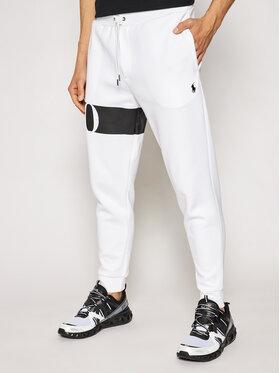 Polo Ralph Lauren Polo Ralph Lauren Teplákové kalhoty Double Knt Cvs 710828117002 Bílá Regular Fit