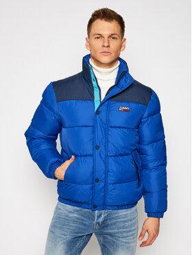 Tommy Jeans Tommy Jeans Пухено яке Tjm Corp Puffa DM0DM09379 Тъмносин Regular Fit