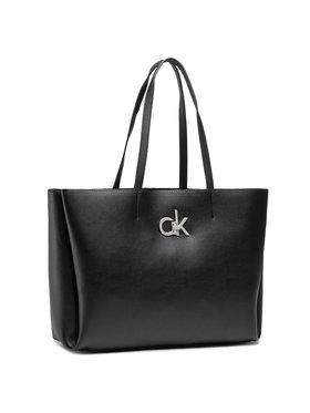 Calvin Klein Calvin Klein Táska Shopper W/Laptop Pouch K60K607880 Fekete