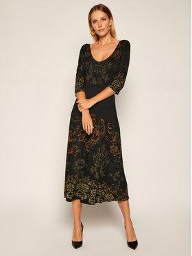 Desigual Desigual Kleid für den Alltag Vero 20WWVKA3 Schwarz Regular Fit