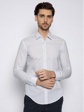 Boss Boss Koszula Ronni_53 50427898 Biały Slim Fit
