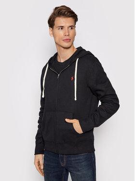 Polo Ralph Lauren Polo Ralph Lauren Bluza Fleece 710813297001 Czarny Regular Fit