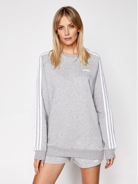 adidas adidas Sweatshirt Essential Boyfriend Crew FN5785 Gris Regular Fit