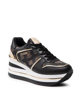 Guess Guess Sneakersy Hektore FL7HEE FAL12 Czarny