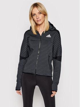 adidas adidas Pulóver Z.N.E. Sportswear GI4625 Fekete Loose Fit