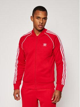 adidas adidas Bluză Sst Tt P GF0196 Roșu Standard Fit
